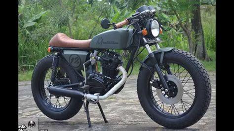 Modifikasi Motor Gl Pro Cafe Racer by Modifikasi Style Gl Pro Modifikasi Motor Japstyle