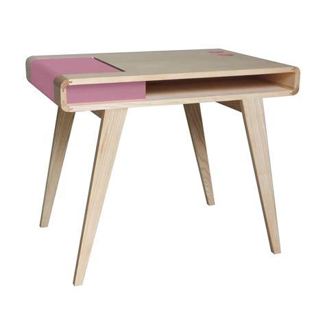 bureau contemporain design bureau rétro contemporain en bois kolorea atelier