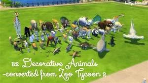Zoo Set 82 decorative animals at Brittpinkiesims » Sims 4