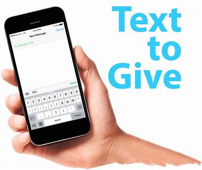 Text Give Donate Giving Church Phone Cell