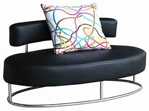 Oyster Contemporary Comfortable Lounge Chair