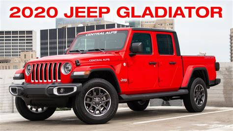 jeep gladiator overland   central alps youtube