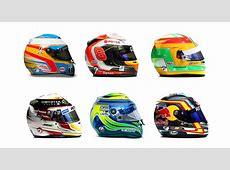 Los cascos de los pilotos de F1 SPORTYOU
