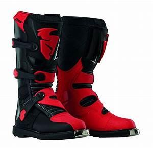 Botte Cross Enfant : bottes cross enfant thor blitz noir rouge quipement ~ Dode.kayakingforconservation.com Idées de Décoration