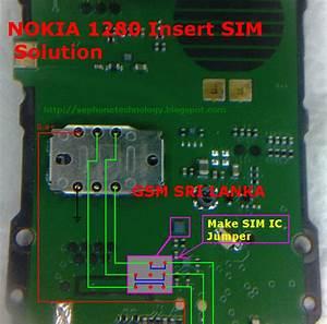 Cell Phones Repair  Nokia 1280 Insert Sim Solution