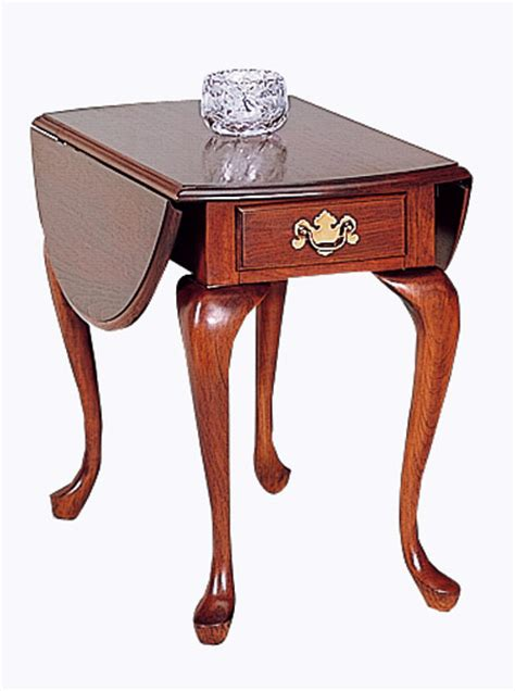 Federal Furniture by Cherry Dropleaf End Table