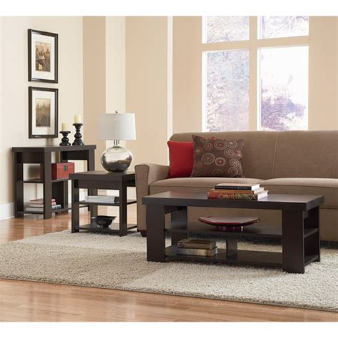 walmart larkin sofa table larkin coffee table sofa table end table value bundle
