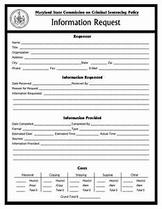 Information Request Form  Msccsp