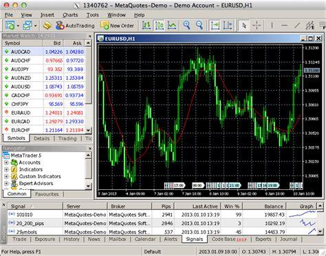mt4 trading metatrader 5 on mac os mql5 articles