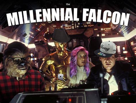 Millenial Memes - millenial falcon star wars know your meme