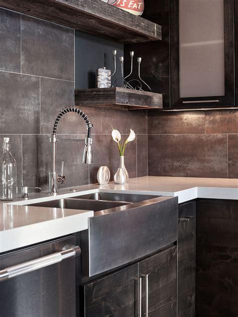 large tile backsplash ideas pictures remodel  decor