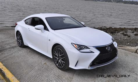 lexus coupe white 2015 lexus rc350 f sport car and driver autos post
