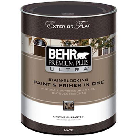 Behr Premium Plus Ultra 1qt Medium Base Flat Exterior