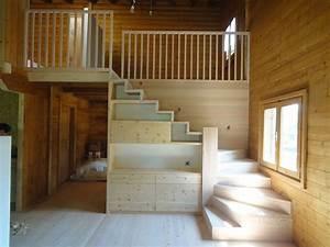 Maintal Polsterbett Mit Treppe : wohnzimmer mit treppen raum und m beldesign inspiration ~ Bigdaddyawards.com Haus und Dekorationen
