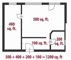 How to calculate square feet for a home realtorcomr for How to figure square footage for flooring