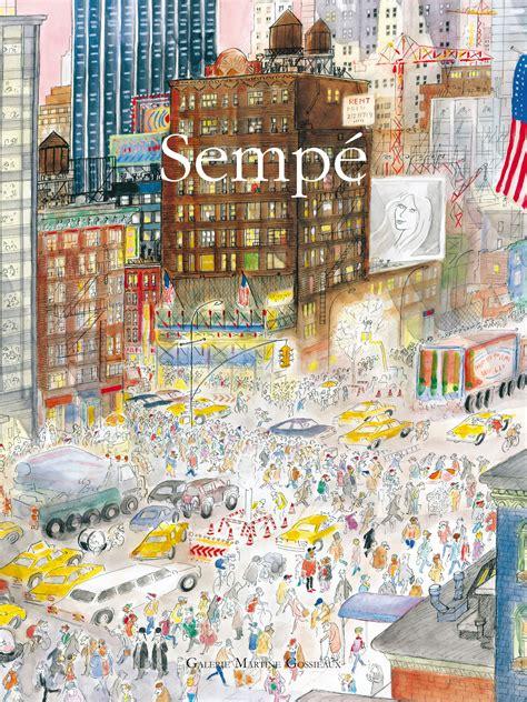 dessin bureau affiche sempé york 40 x 50 cm york image republic