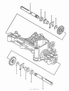 Husqvarna Tuff Torq K55j Transaxle Parts Diagram For Axle
