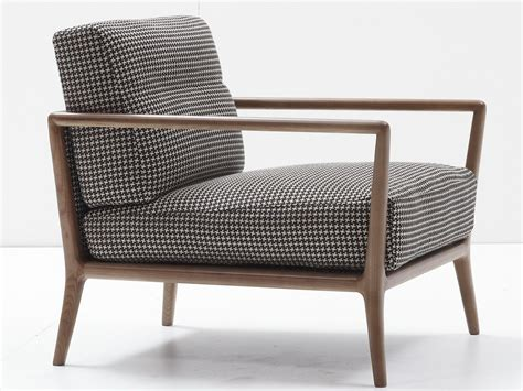 Upholstered Armchair Carlton By Nube Italia