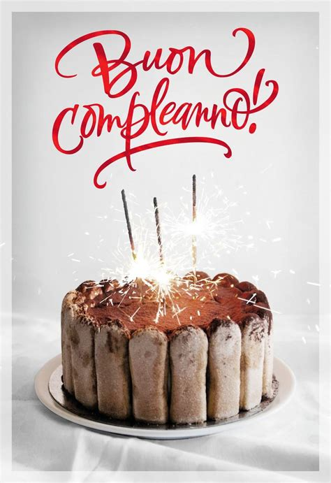 buon compleanno italian language birthday card greeting