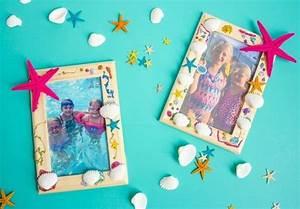 Cadre Deco Enfant : fabriquer un cadre photo 60 id es pour un objet valeur sentimentale ~ Teatrodelosmanantiales.com Idées de Décoration