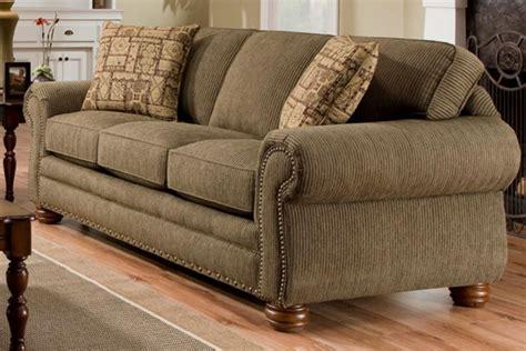 Grace Chenille Sofa With Built In Sleeper At Gardner White