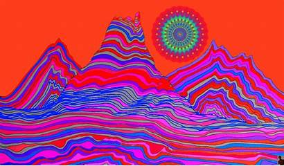 Trippy Psychedelic Illustration Wallpapers Google Gifs Animation