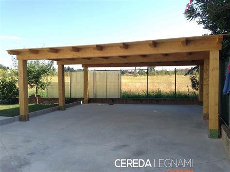 tettoia in legno per auto box auto legno cassina cereda legnami agrate brianza