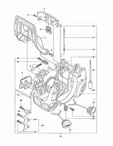 Crankcase Diagram  U0026 Parts List For Model Cs380 Mc