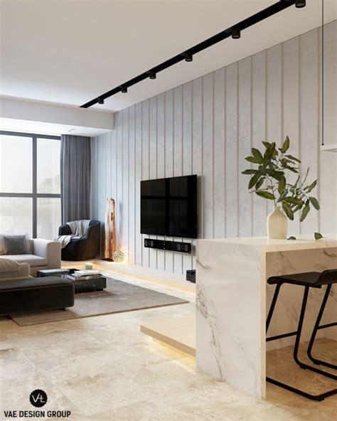 vae cuisine aménagement petit appartement trois intérieurs modernes