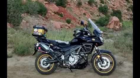 Suzuki V by Is The Suzuki V Strom An Adventure Bike