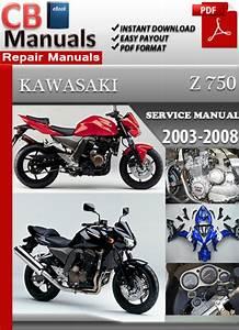 Factory Pdf Manuals  Kawasaki Z750 2003