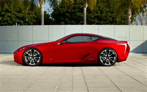 Lexus Lf Lc Sports Coupe Concept New Pictures