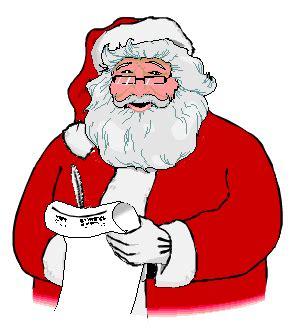 moving santa claus santa clause clip animations