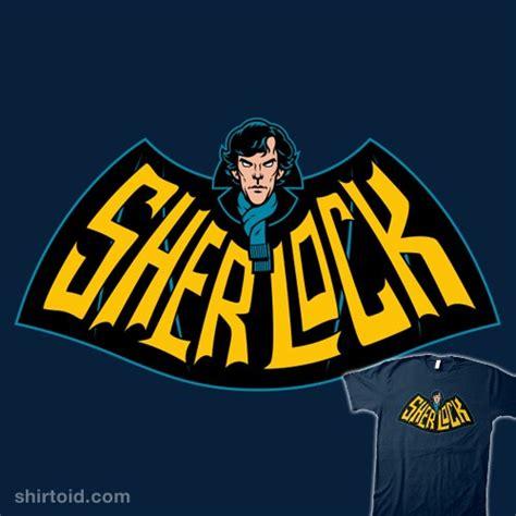 sherlock shirtoid batman nordgren ghostbusters frozen bbc redbubble animated series hole shirt