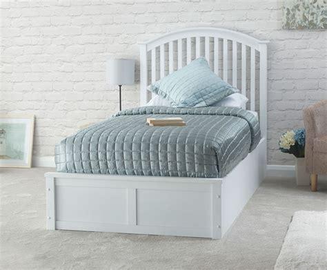 Storage Bed Ottoman by Madrillo White Single Ottoman Storage Bed Frame
