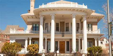 neoclassical montana mansion house  affordable