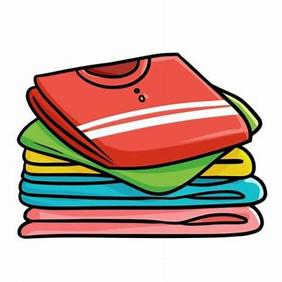 Ropa Doblada Clothes Piles Clip Clean Shirts