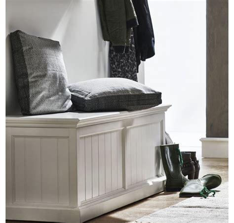 achat canape coffre banc de rangement collection leirjford bois blanc