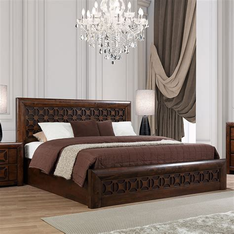 buy casablanca solid wood hydraulic storage king size bed
