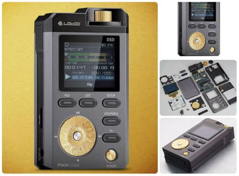 mp player lotoo paw gold device boom