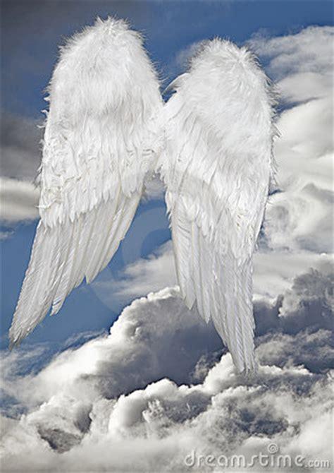 angel wings heaven stock image image