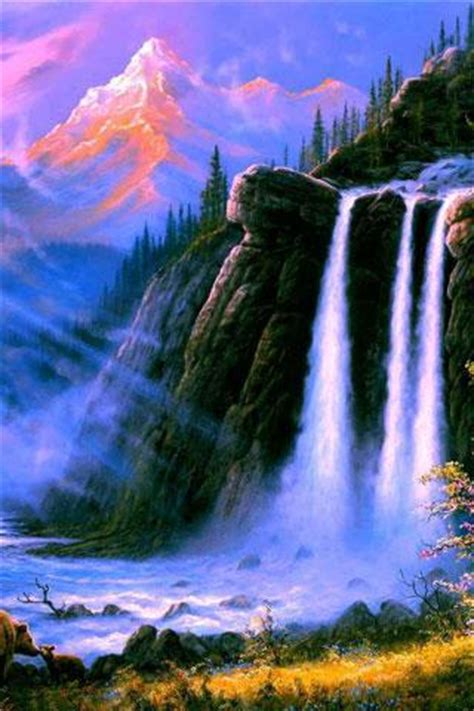 waterfall hd wallpaper   jcwpspiderman
