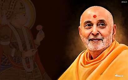 Swami Pramukh Swaminarayan Painting Maharaj Baps Wallpapers