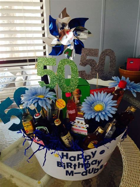 40th Birthday Gift Basket Ideas Ftempo