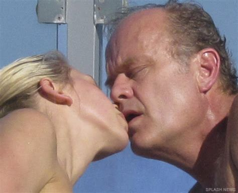 debbie reynolds frasier photos kelsey grammer kisses bikini clad kayte walsh then