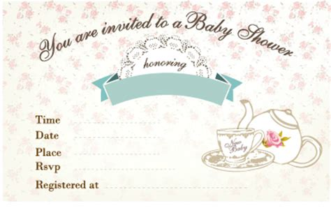 tea garden party baby shower  practical baby shower guide