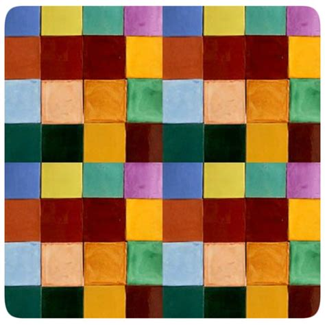 colorful floor tile mexican solid color tiles
