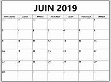 juin 2019 calendrier imprimable calendrier gratuit