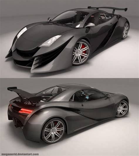3d Cars 30 New Concept Cars Visualized Creativefan