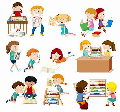 Activity Students Vector Clipart Resources Graphics